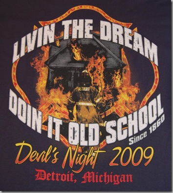 Official DFD Devil's Night T-shirt 2009