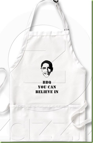 BBQ YOU CAN BELIEVE IN APRON ZAZZLE