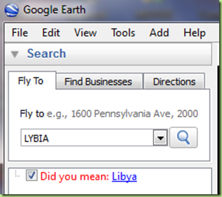 google earth-Lybia