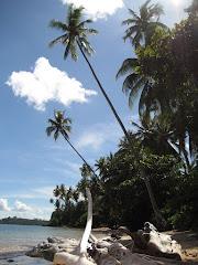 Strandje bij Mimpi Indah resort