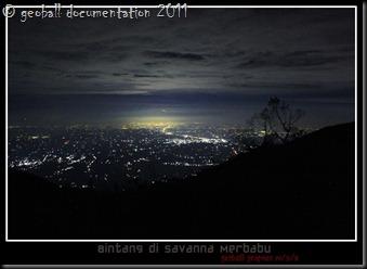landscape bintang merbabu