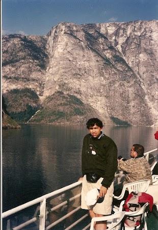 Obiective turistice Norvegia: pe vapor printre fjorduri