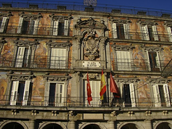Imagini Spania: Plaza Mayor.JPG