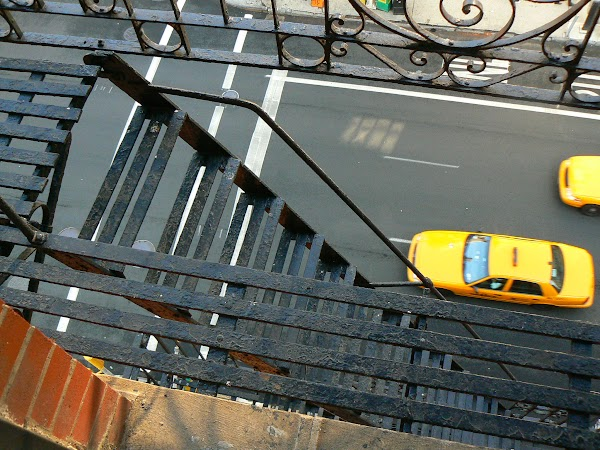Imagini SUA: Hotel Ramada Inn Manhattan New York scari de incendiu.JPG