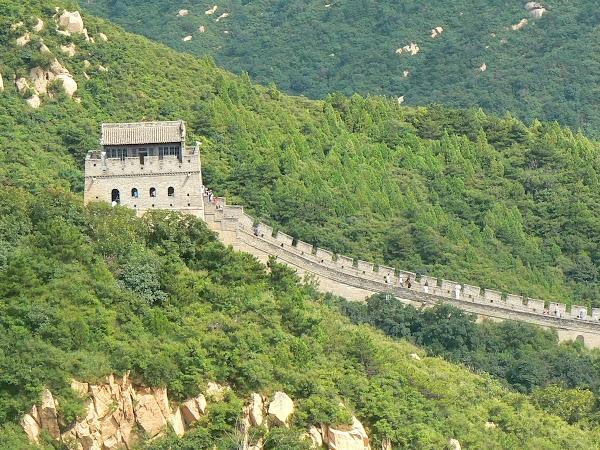 Imagini China: exista si locuri libere pe Marele Zid