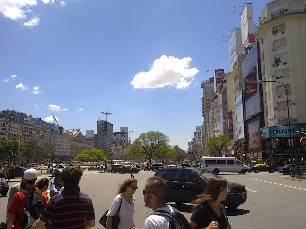 Obiective turistice Argentina: centru Buenos Aires