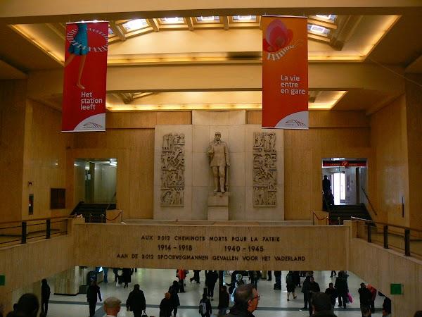 Obiective turistice Belgia: Gare Centrale Bruxelles