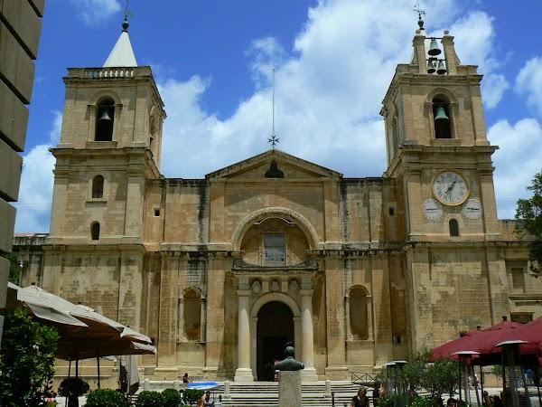 Obiective turistice Malta: catedrala din La Valletta