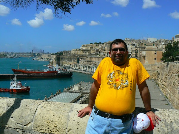 Obiective turistice Malta: great Harbour, Valletta