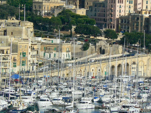 Obiective turistice Malta: Vittoriosa 3 Senglea.JPG