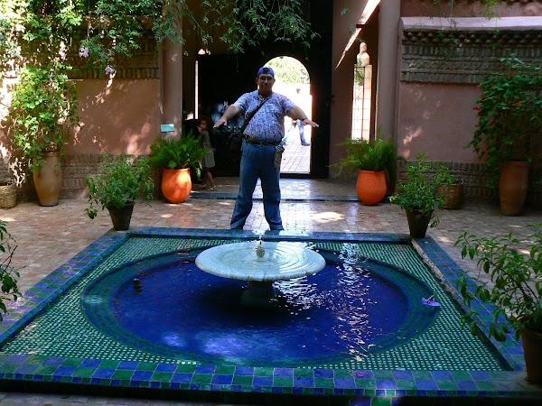 Atractii Maroc: au revoir, Jardin Majorelle