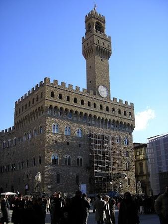 Obiective turistice Italia: Florenta, Palazzo Vecchio.JPG
