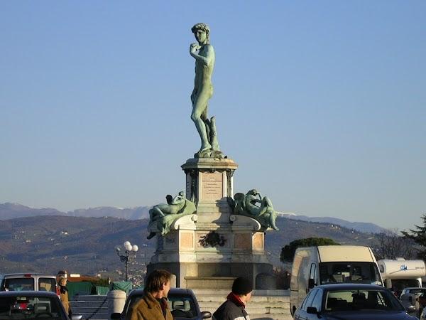 Obiective turistice Italia: Florenta, Piazzale Michelangelo.JPG