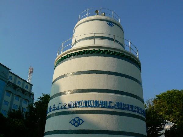 Imagini Maldives: minaret ca un far.JPG