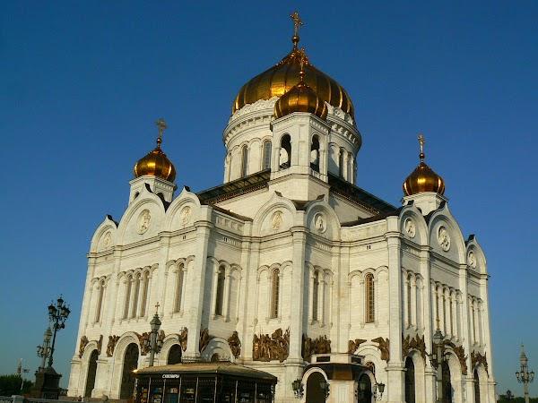 Obiective turistice Rusia: Catedrala lui Isus Mantuitorul, Moscova