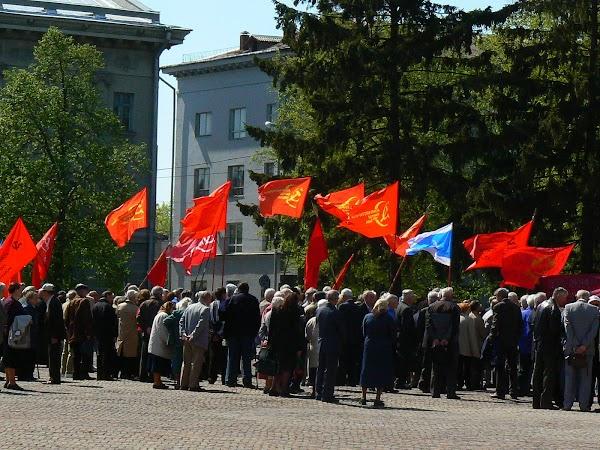 Obiective turistice Ucraina: manifestatie de 1 Mai.JPG