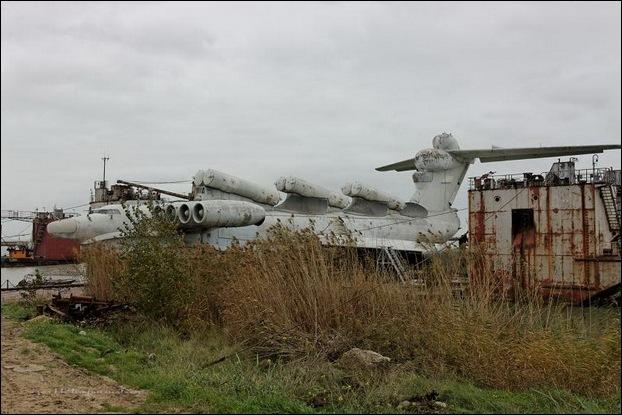 Soviet Ekranoplan 23