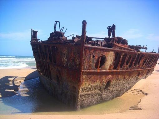 Maheno, Fraser Island, Queensland, Australia