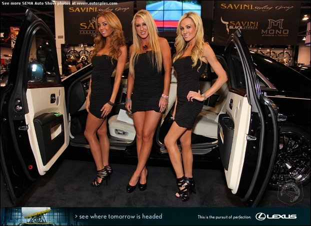 The Ladies Of SEMA10