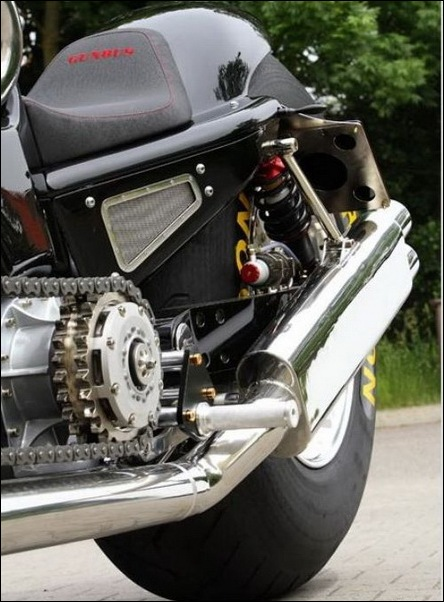 Cubic Inch V-Twin Motorcycle 6