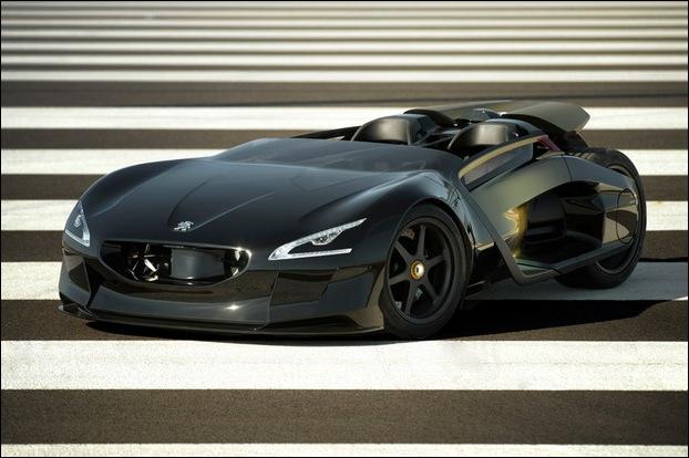 Peugeot EX1 electric concept car 1