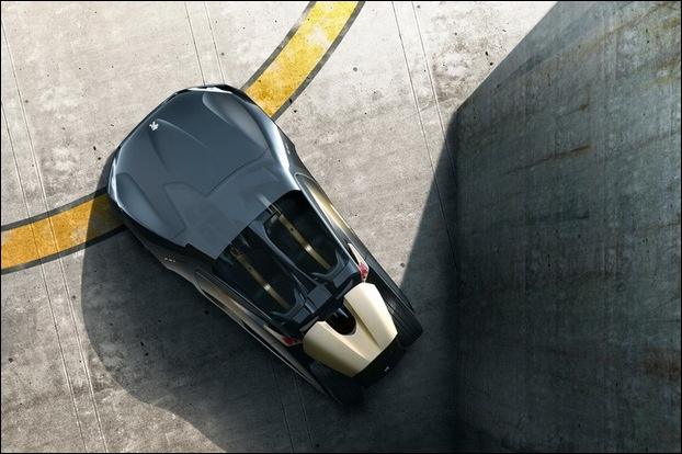 Peugeot EX1 electric concept car 3