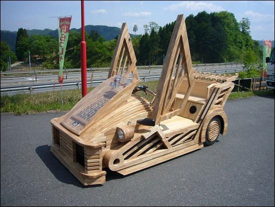 Wooden-Supercar