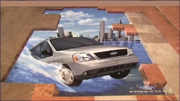 Street Art 3D cars 08