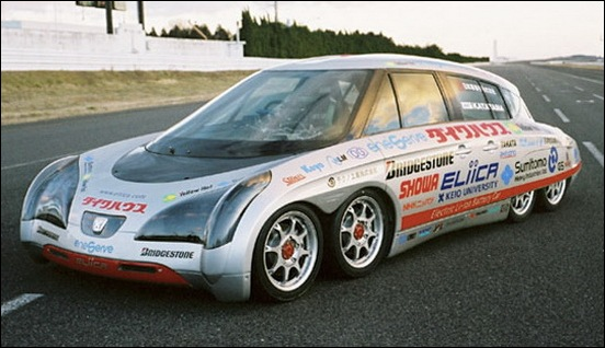 Eliica Fastest Electric Car 01