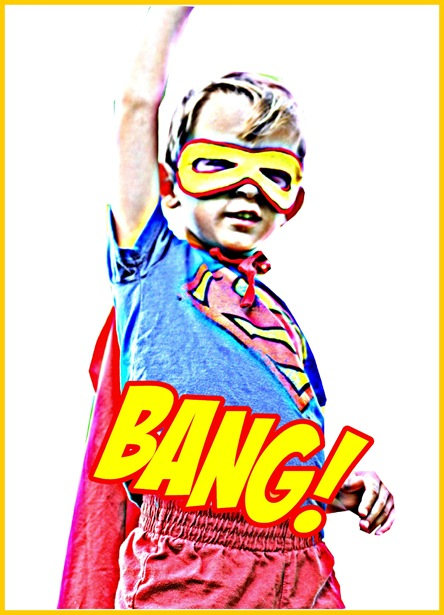bang with frame