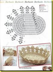 фруктовница-хлебница схема