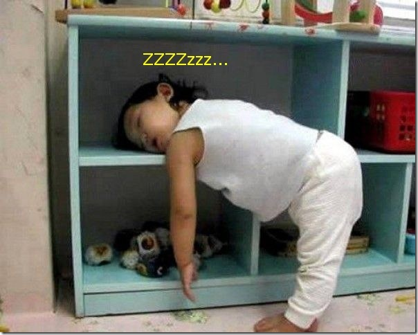 Funny Pictures: Funny sleeping position