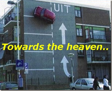 Funny Pictures: To the heaven