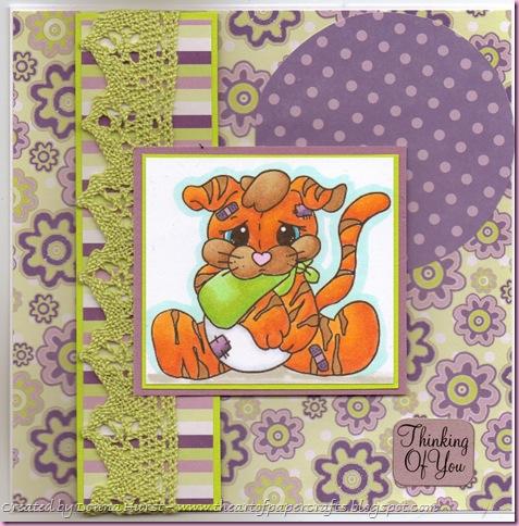 Tayla Boo Boo Card
