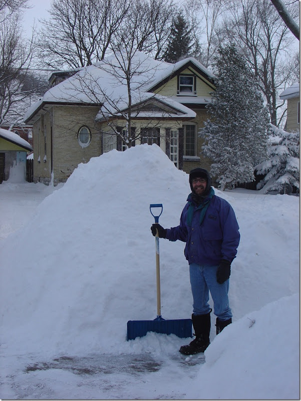 Huge heap o' snow