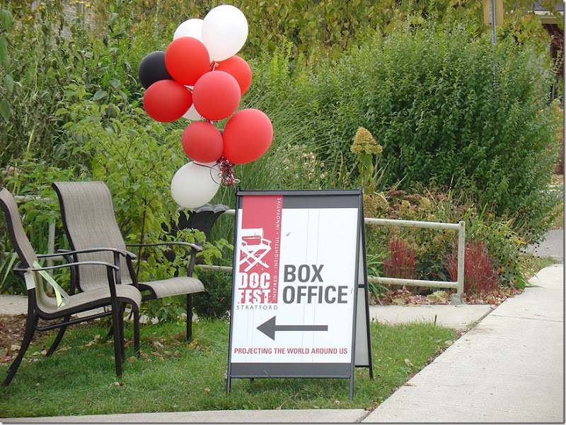 Doc Fest Stratford Box Office at Anything Grows