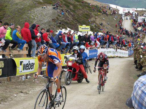 Plan de Corones, Giro 2008