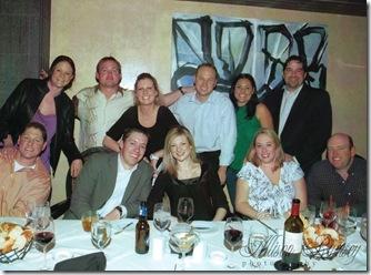 Group Dinner Vegas