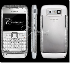 Diamond studded E71