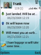 Nokia Conversation for E71 and E71x screenshot