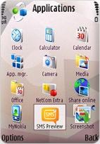 SMS Preview for E71 and E71x screenshot