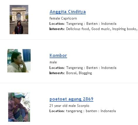 beberapa blogger profile tangerang