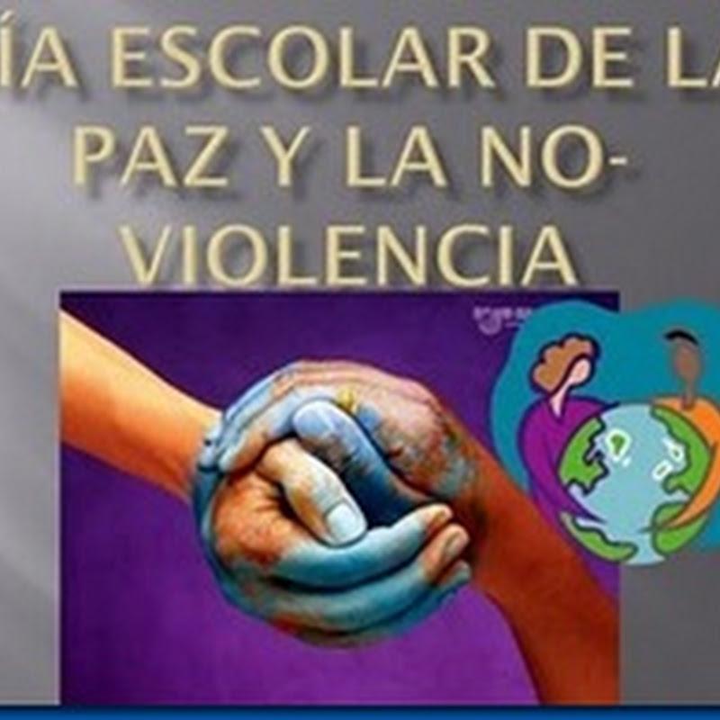 Día Escolar de la No-Violencia y la Paz
