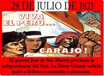 independencia perú
