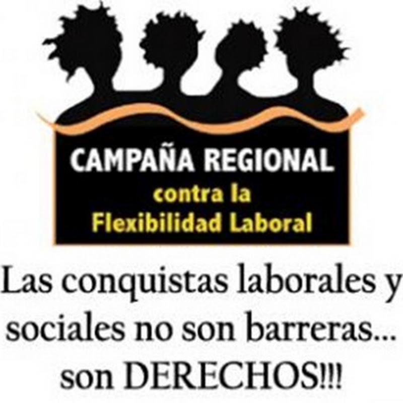 Día de Acción Regional contra la Flexibilidad Laboral