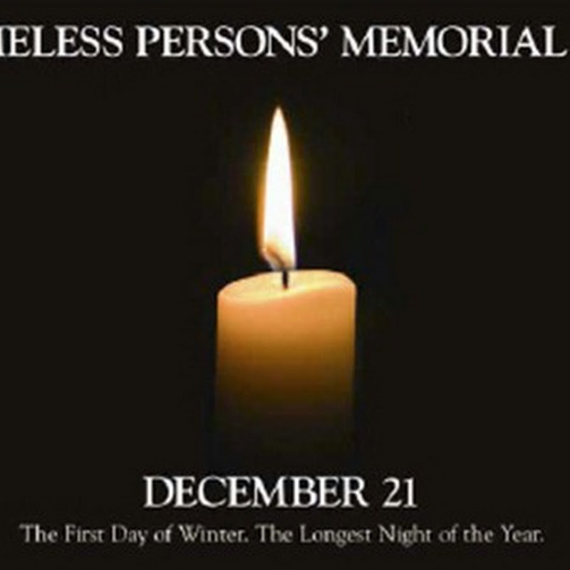 National Homeless Persons' Memorial Day