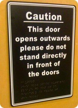braille puerta