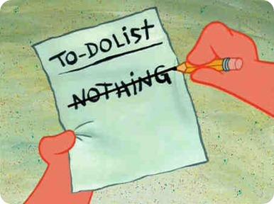 día no hacer nada