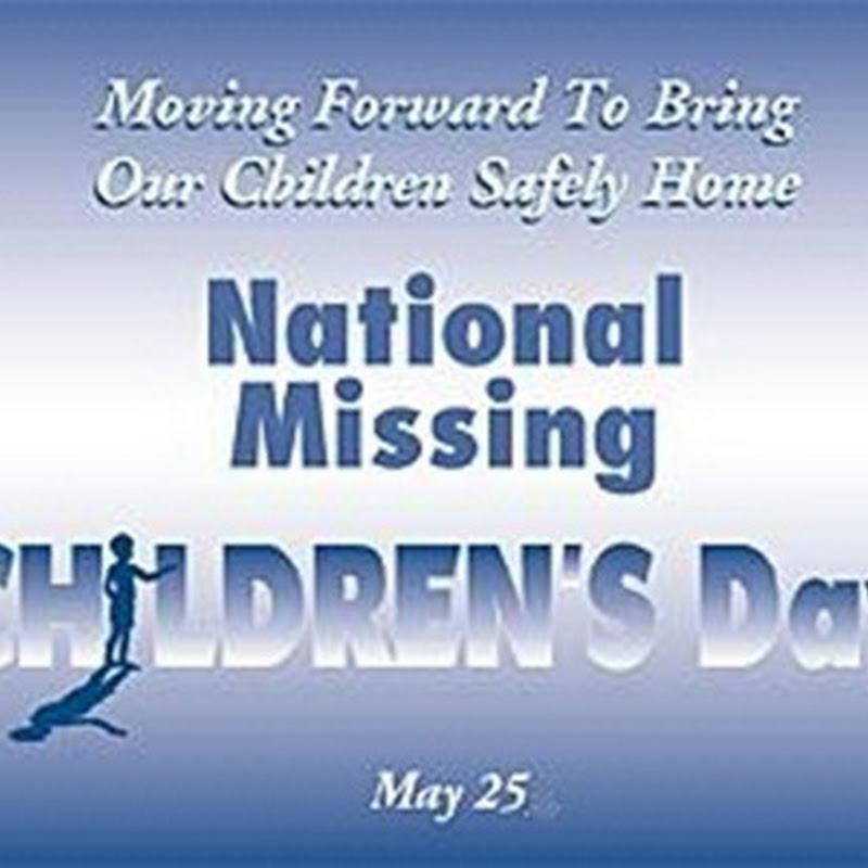 Día Nacional de los Niños Desaparecidos