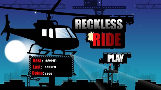 Reckless Ride:Helicopter - screenshot
